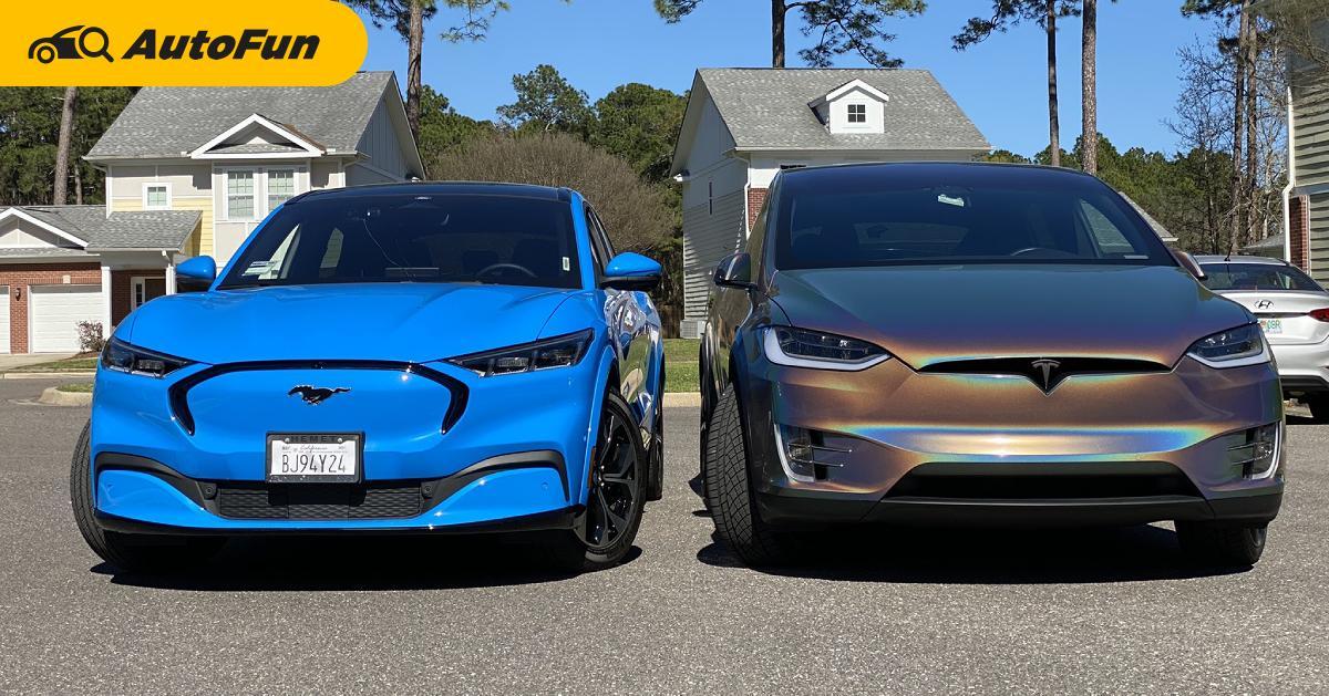 Ford ขยี้ Tesla เผยผลสำรวจลูกค้า 2021 Ford Mustang Mach-E ร้อยละ 70 เคยใช้เทสล่ามาก่อน 01