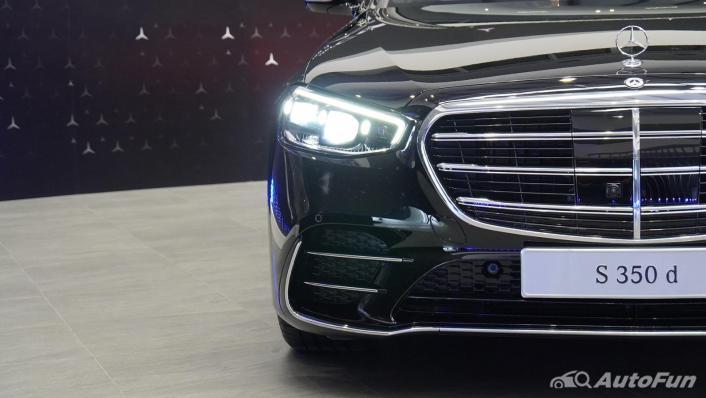 2021 Mercedes-Benz S-Class S 350 d AMG Premium Exterior 005