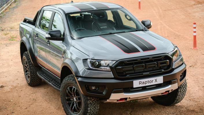 2021 Ford Ranger Raptor X Exterior 003