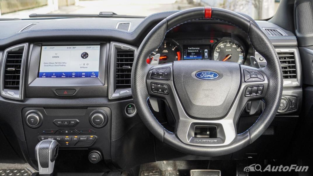 Ford Ranger Raptor 2.0L EcoBlue Interior 002