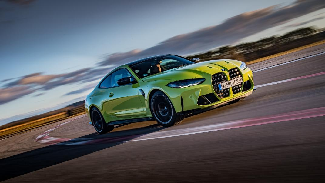 2021 BMW M4 Coupe Competition Exterior 018