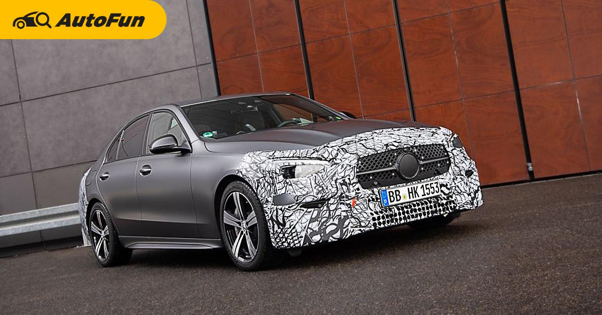 2022 Mercedes-AMG C63 ยอมทิ้งเครื่อง V8 มาใช้เบนซิน 4 สูบไฮบริด ขาซิ่งจะรับได้มั้ย? 01