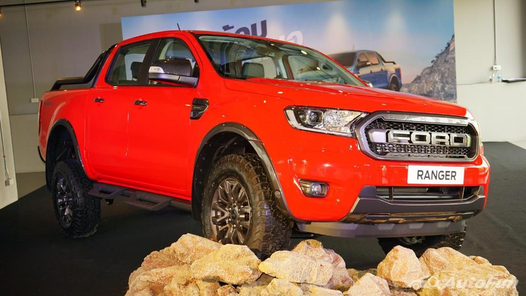 2021 Ford Ranger FX4 MAX Exterior 012