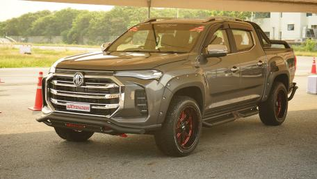 2021 MG Extender 2.0 GC Grand D 6AT ราคารถ, รีวิว, สเปค, รูปภาพรถในประเทศไทย | AutoFun