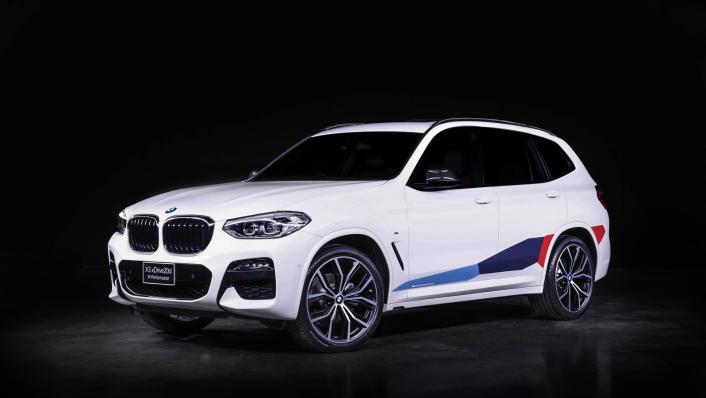 2021 BMW X3 xDrive20d M Sport Exterior 001