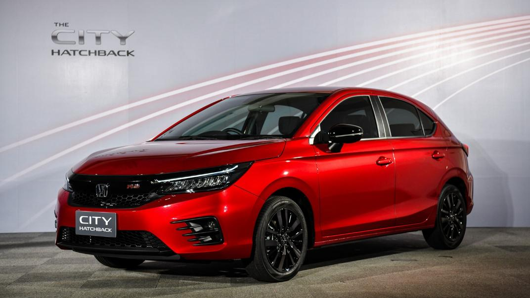 2021 Honda City Hatchback 1.0 Turbo RS Exterior 020
