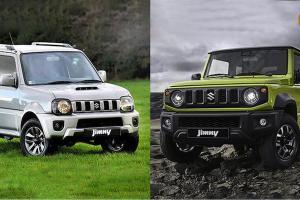 เทียบ Suzuki Jimny เวอร์ชั่นใหม่ต่างเวอร์ชั่นเก่าตรงไหน