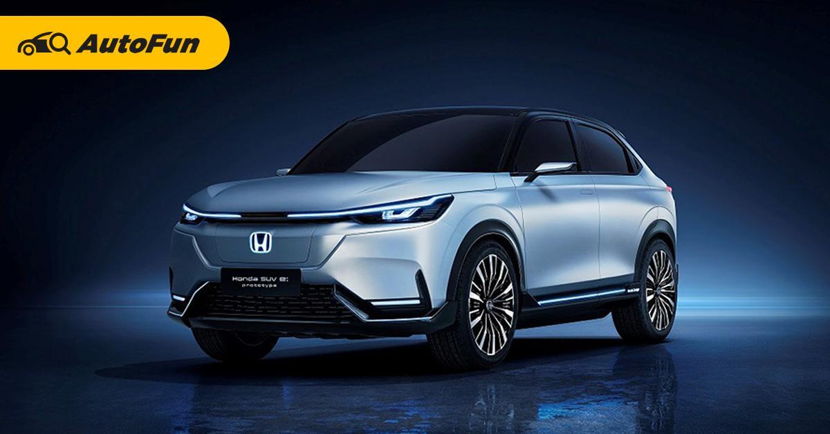 ยลโฉม Honda SUV e:prototype หรือนี่จะเป็น Honda HR-V เวอร์ชั่นไฟฟ้า! 01