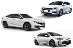 งบ 1 ล้านบาท ถ้าไม่เลือก Toyota Corolla Altis ควรหันไปคบ Honda Civic หรือ MG EP หรือไม่?