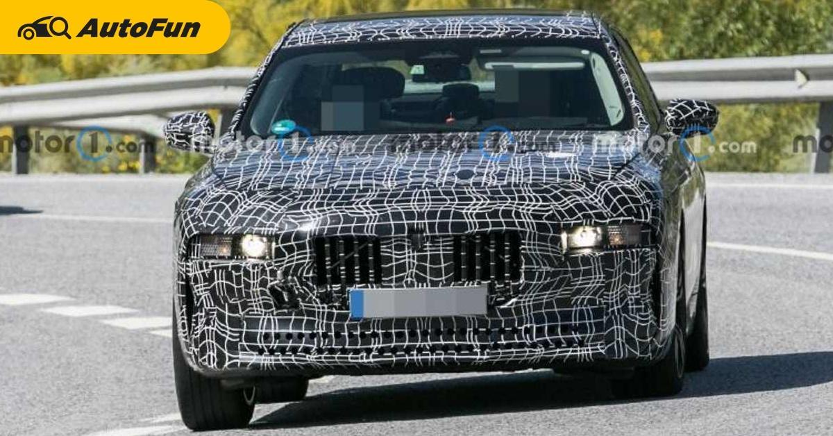2023 BMW 7-Series หรูขึ้นด้วยเส้นสายเรียบเนี๊ยบ พร้อมท้าชน S-Class/A8 01