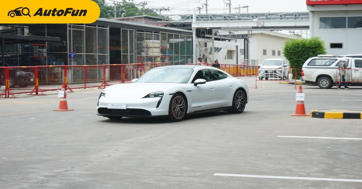 First Impression ลองของจริง ซิ่ง 2020 Porsche Taycan 4S 01