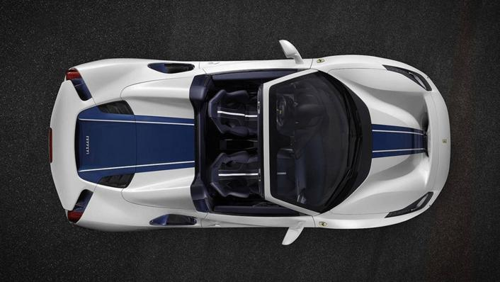 2020 Ferrari 488 Pista Spider 3.9 V8 Exterior 004
