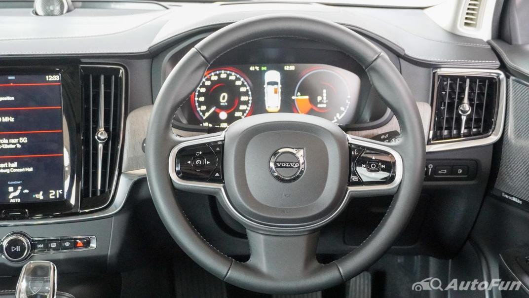 2021 Volvo S90 Recharge Interior 005