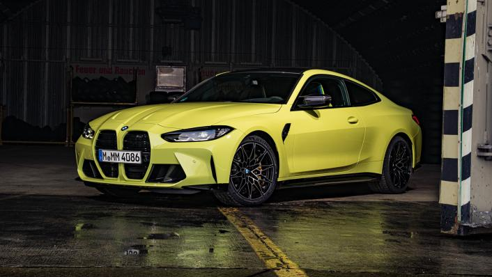 2021 BMW M4 Coupe Competition Exterior 001