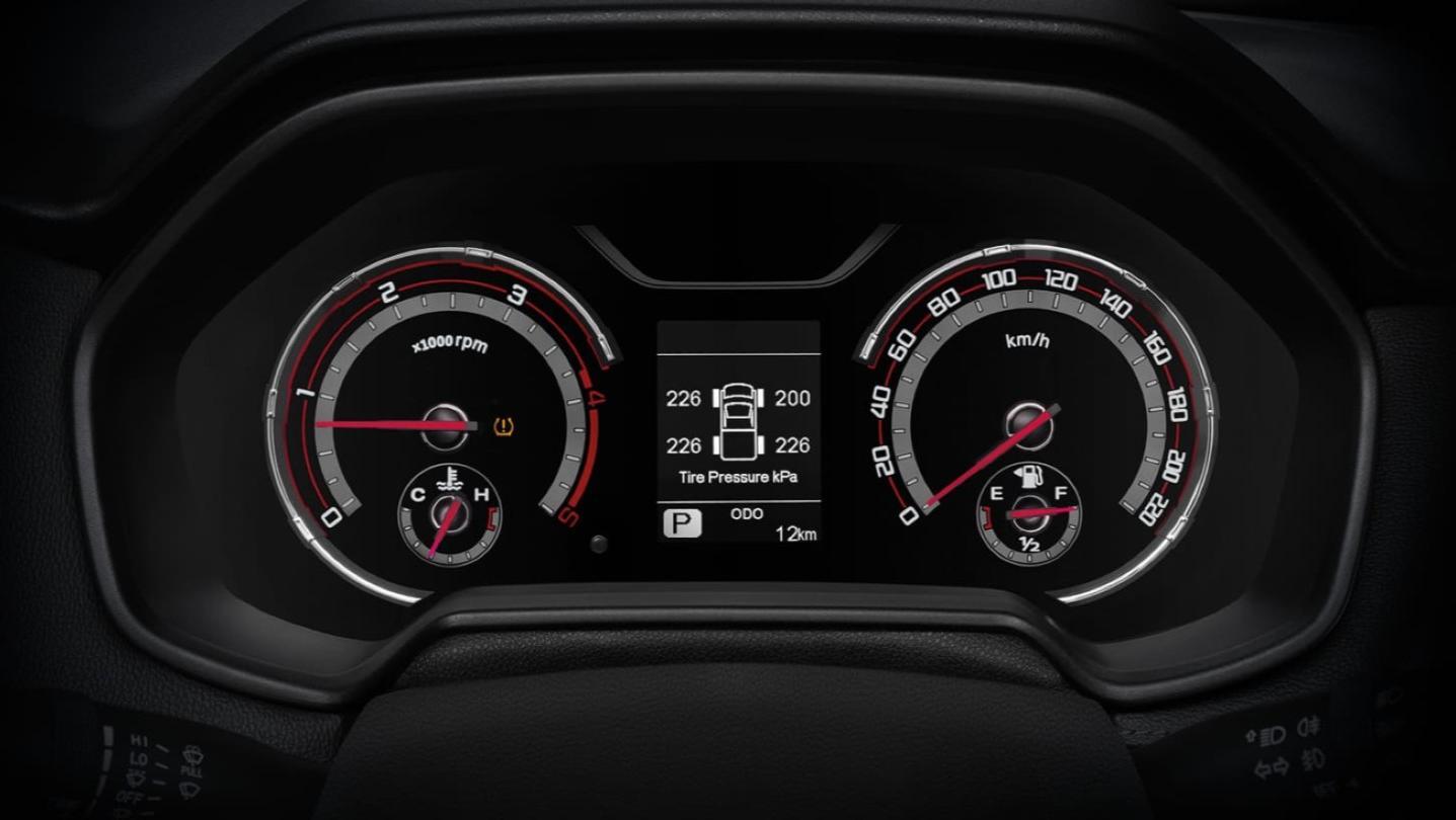 MG Extender 2020 Interior 006