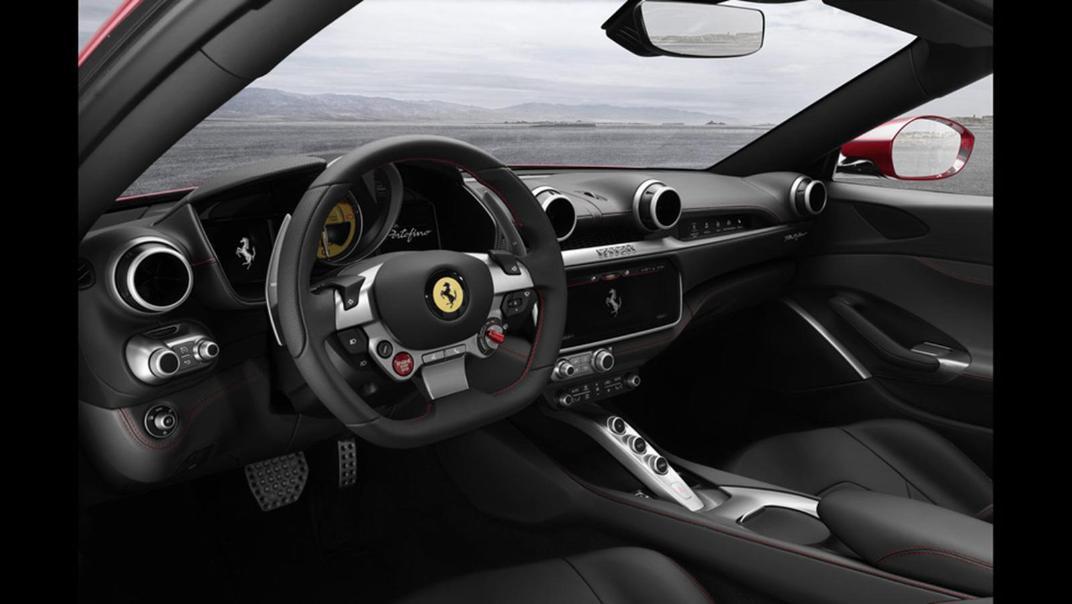 2020 Ferrari Portofino 3.9 V8 Interior 002