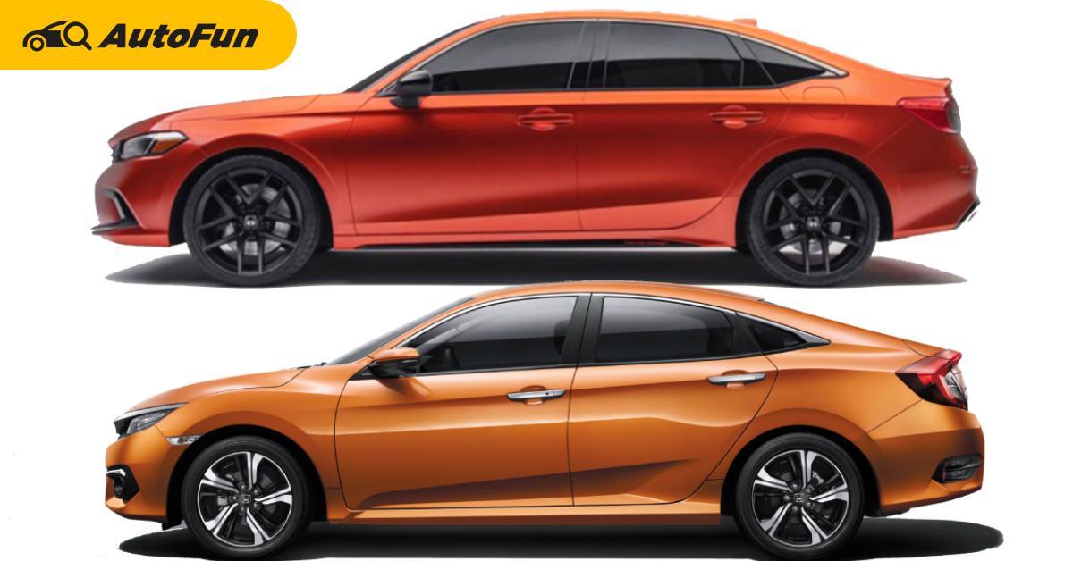 2022 Honda Civic รุ่นใหม่ แต่ไอเดียดีไซน์จากซีวิคเก่า เจาะภาพจริง 6 ชิ้นส่วนนี้มาจากไหน ? 01