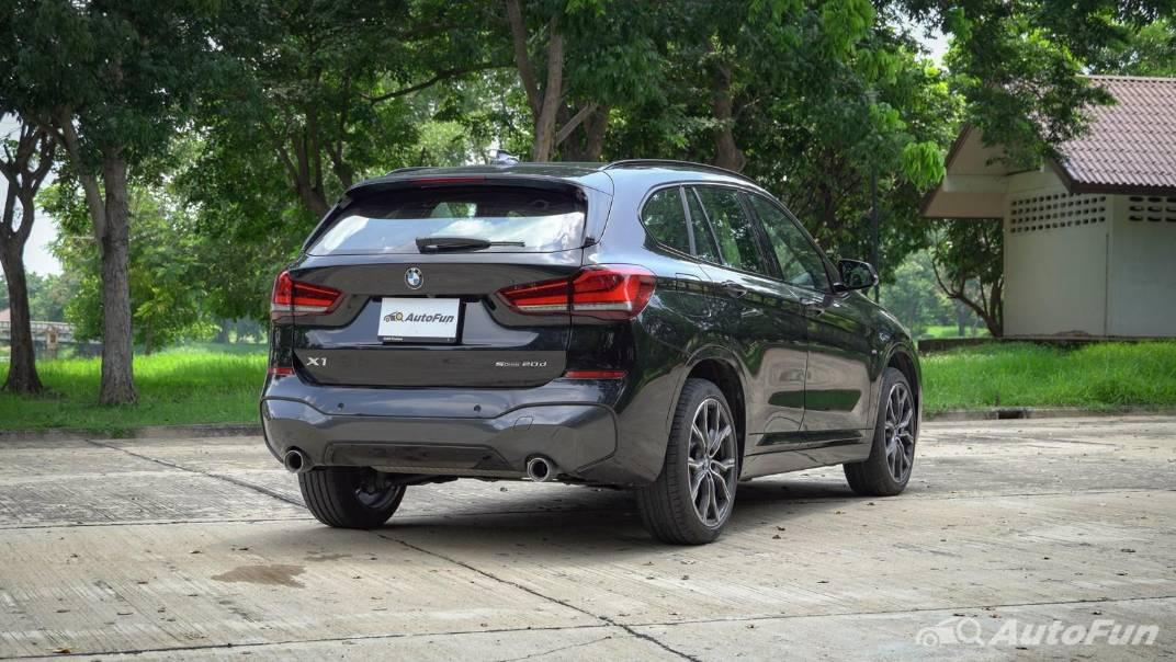 2021 BMW X1 2.0 sDrive20d M Sport Exterior 004