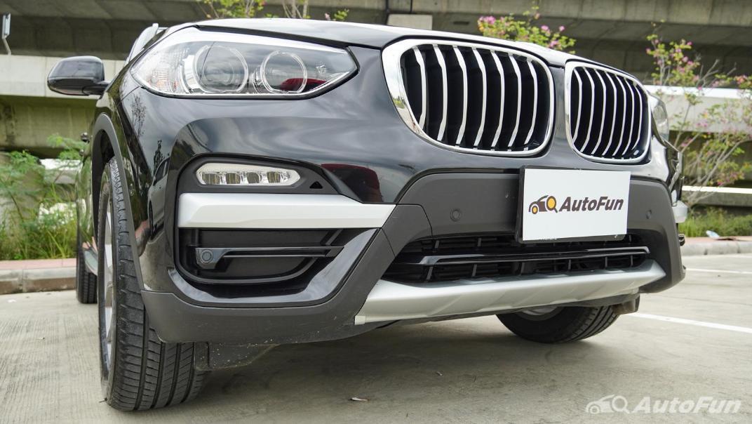 2020 2.0 BMW X3 xDrive20d M Sport Exterior 012