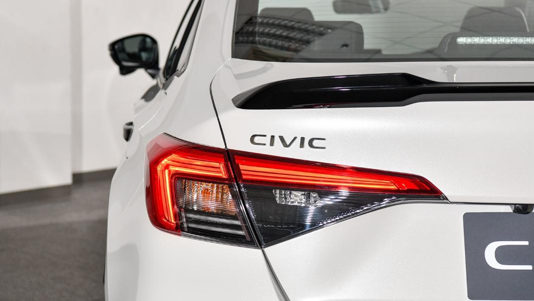 2022 Honda Civic RS Exterior 030