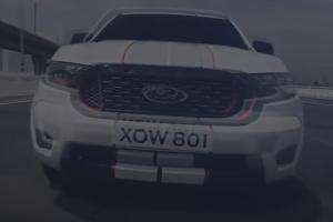 Teaser 2021 Ford Ranger โชว์กระจังหน้าขลิบสีสด พร้อมแคมเปญใหม่เป็นครั้งแรก