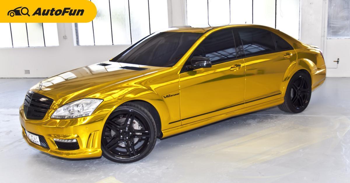 ลองทายกันดู รถคันไหนทำ Wrap สียากที่สุดจนคนทำต้องส่ายหน้า ใบ้ให้ไม่ใช่ Supercars นะ 01