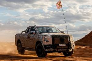 Ford Ranger ไฟฟ้าจะมาแน่นอน แต่ตอนนี้ขอเป็นไฮบริดไปก่อน