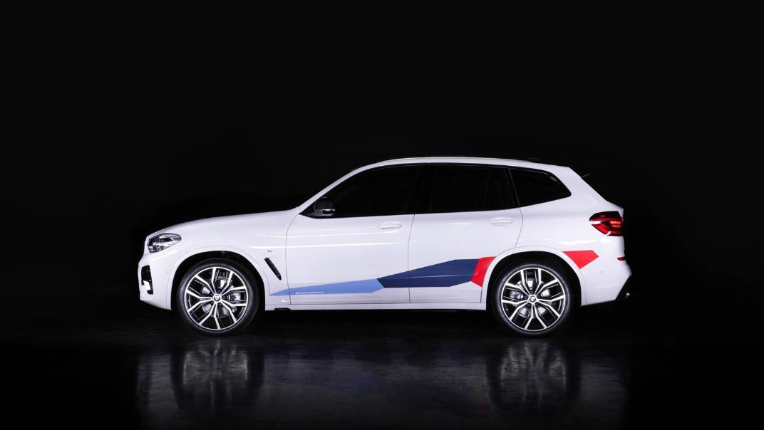 2021 BMW X3 xDrive20d M Sport Exterior 003