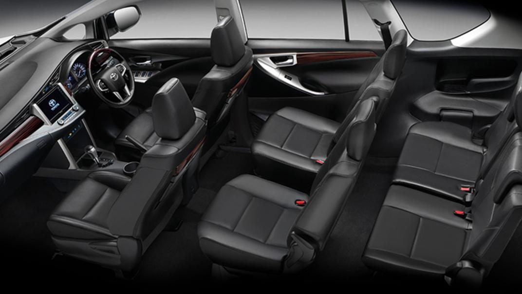 2021 Toyota Innova Crysta Interior 009