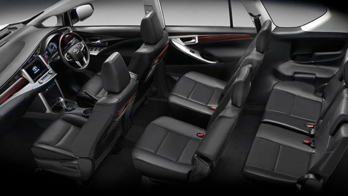 2021 Toyota Innova Crysta Public Interior 009