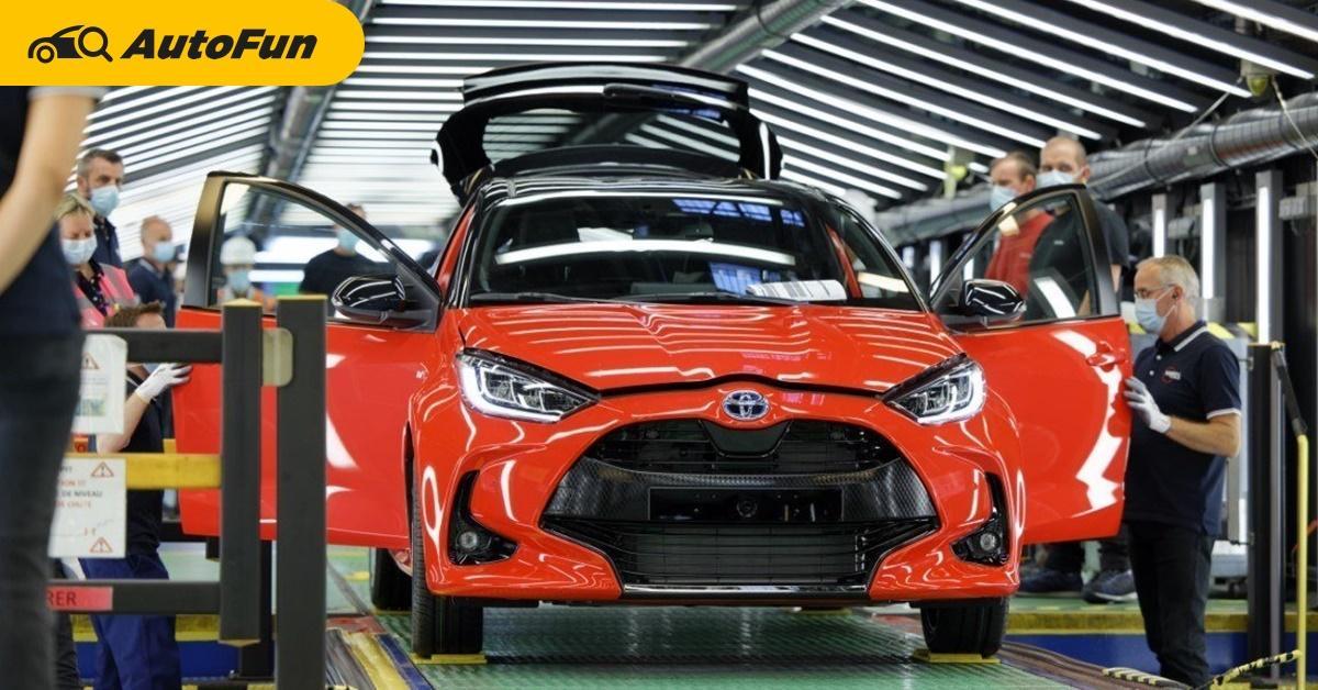 Toyota เตรียมหยุดการผลิต 2 โรงงานในญี่ปุ่น ส่งผลกระทบ C-HR, Yaris, Yaris Cross กว่า 2 หมื่นคัน 01