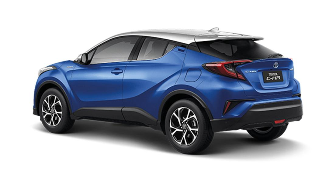 2021 Toyota C-HR Hybrid Premium Safety Exterior 027