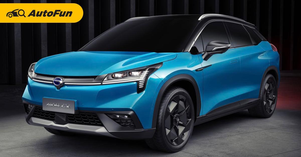 พาชม 2022 GAC Aion LX รถเอสยูวีสัญชาติจีนที่สร้างมาเพื่อฆ่า Tesla Model Y 01