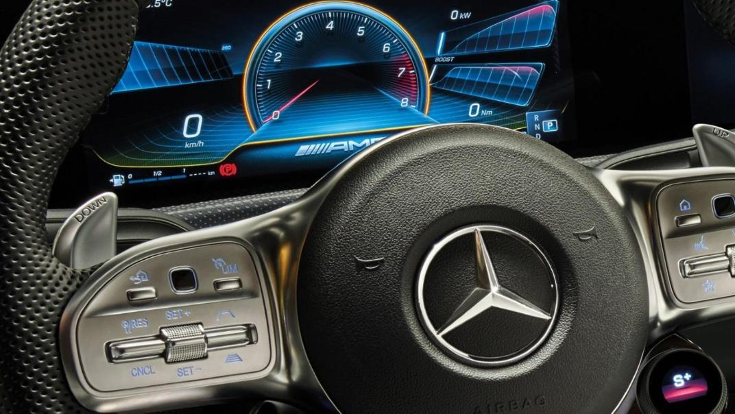 Mercedes-Benz CLA-Class 2020 Interior 009