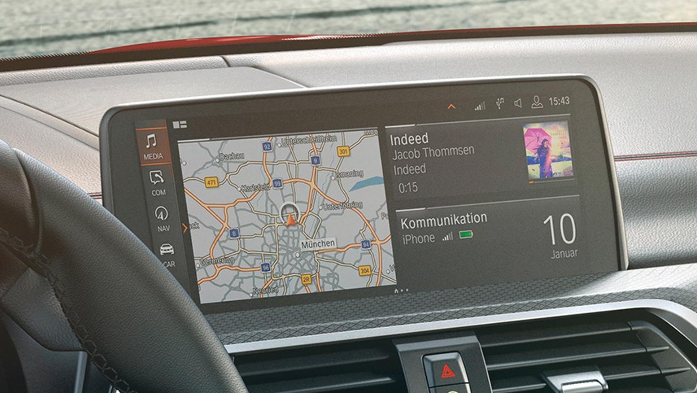 BMW X4 2020 Interior 003