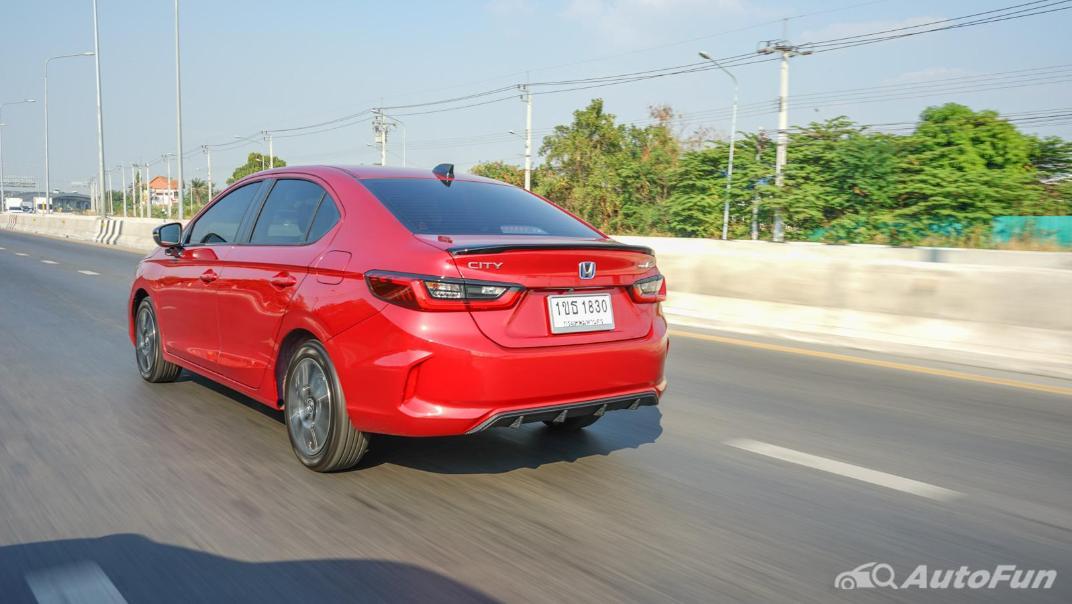 2021 Honda City e:HEV RS Exterior 048