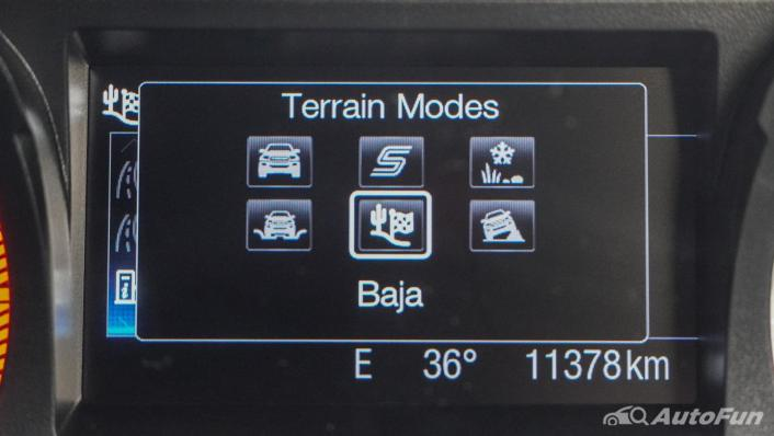 Ford Ranger Raptor 2.0L EcoBlue Interior 005