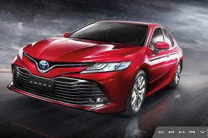 Toyota Camry ซีดานดีไซน์สปอร์ต พร้อมสมรรถนะขับขี่โดนใจ ราคาเริ่ม 1.455 ล้านบาท