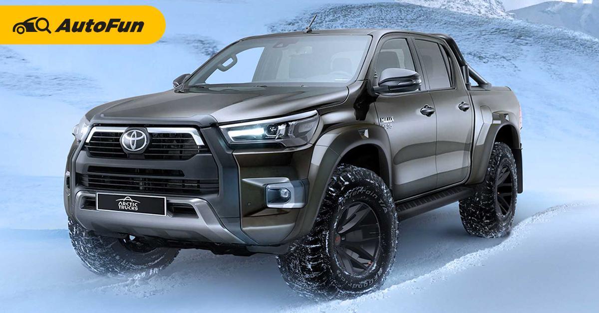พาชม Toyota Hilux AT3 อัพเกรดกระบะออฟโรด ฟาดกับ Ford Ranger Raptor ได้เลย 01